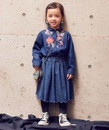 RUGGEDWORKS/起毛デニム刺繍スカート/500541396