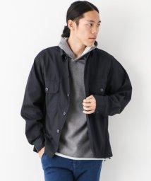 URBAN RESEARCH/【WAREHOUSE】刺繍入りファティーグシャツ/500555207