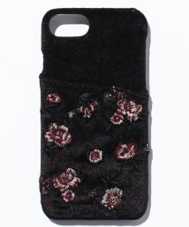 Avan Lily/ローズ刺繍ベロアスマホケース/500555806