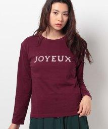 Avan Lily/JOYEUR9分袖Tシャツ/500555817
