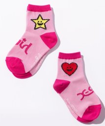 X-girl Stages/キラッキー&ハートソックス/500557920