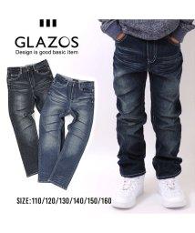 GLAZOS/ストレート・ヴィンテージデニムパンツ/500574140