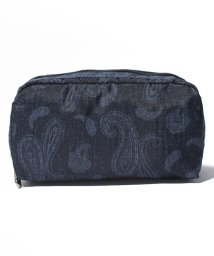 LeSportsac/RECTANGULAR COSMETIC デニムペイズリー/LS0019169