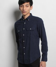 JNSJNM/【BLUE STANDARD】ネルプリントシャツ/500557154