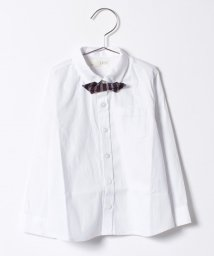 b-ROOM/フレッシャーズ蝶ネクタイ付シャツ/500564120