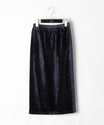 GRACE CONTINENTAL/ベルベットタイトスカート/500578140