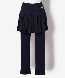 KUMIKYOKU KIDS/【SCHOOL】TC天竺×ヒート裏起毛 スパッツ付きスカート/500579332