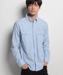 JNSJNM/【BLUE STANDARD】ネル無地シャツ/500557152