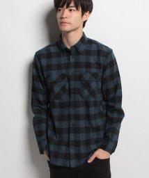 JNSJNM/【BLUE STANDARD】ネルチェックシャツ/500557155