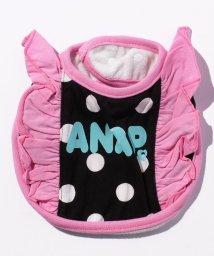 ANAP KIDS/ドット柄フリルスタイ/500570272