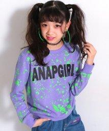 ANAP GiRL/ペイント総柄トップス/500570267