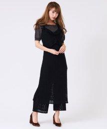 titty&Co./シアーニットワンピース/500571088
