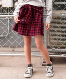 ANAP GiRL/ブロックチェック腰巻スカート/500573251