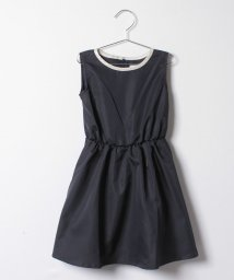 ARCH&LINE/BICOLOR GATHER DRESS/500566603