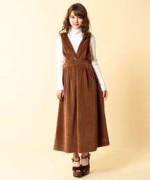 MIIA/コールテンジャンパースカート/500582360