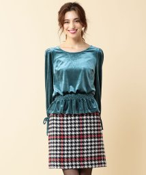 MIIA/オリジナルチェックタイトスカート/500582361