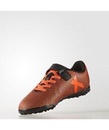 adidas/アディダス/レディス/エックス 17.4 TF J ベルクロ/500584873