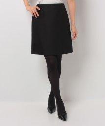 LANVIN en Bleu/【セットアップ対応商品】シルクトラペーズスカート/LB0004433