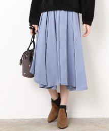 ROPE' mademoiselle/アシンメトリーヘムギャザースカート/500567439