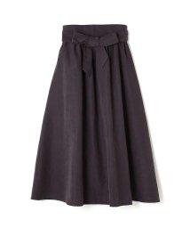 PROPORTION BODY DRESSING/《BLANCHIC》ライトスエードサッシュベルト付スカート/500586330