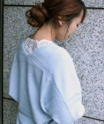 le.coeur blanc/バックモチーフレース長袖/500484645