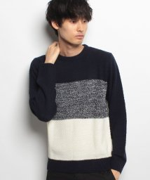 JNSJNM/【BLUE STANDARD】制菌5Gグラデーションセーター/500568683
