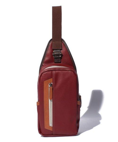 Otias(オティアス)/オティアス Otias / PVC(合成皮革)タテ型ボディバッグ/050001412