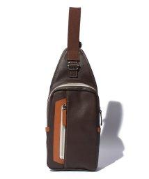 Otias/オティアス Otias / PVC(合成皮革)タテ型ボディバッグ/500575191