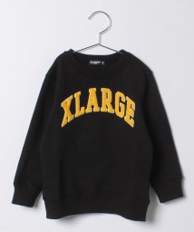 XLARGE KIDS/ロゴワッペントレーナー/500575616
