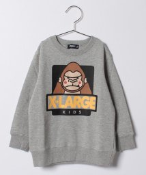 XLARGE KIDS/ゴリラプリントトレーナー/500575617