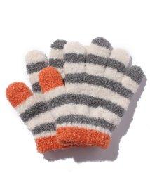 petit main/マシュマロボーダー手袋/500575753