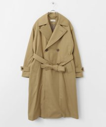 URBAN RESEARCH DOORS/unfil flannel padded trench CT/500589886
