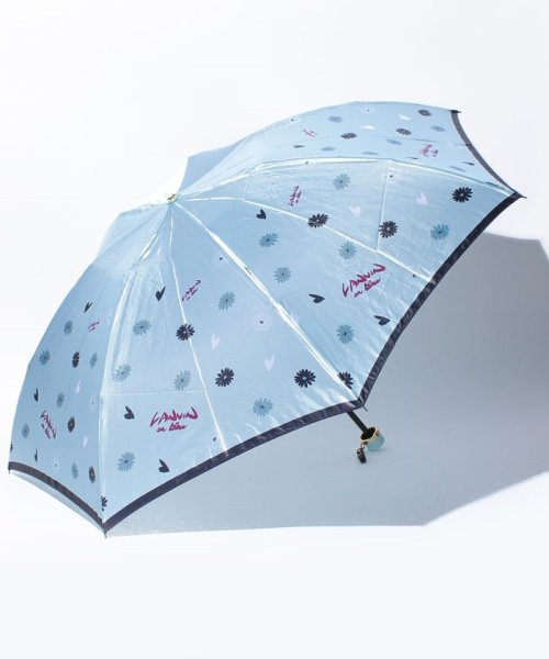 LANVIN en Bleu(ランバンオンブルー)/マーガレット×ハート ミニ傘 55790/3708025