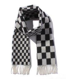 SHIPS MEN/【SHIPS JET BLUE】SGS UK:LAMB CHK JQD SCARF/500549250