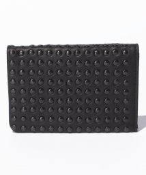 PATRICK STEPHAN/Leather card case 'all‐studs'/500568761