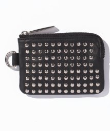 PATRICK STEPHAN/Leather coin case 'all‐studs'/500568763