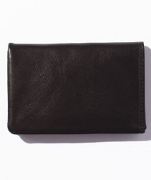 PATRICK STEPHAN/Leather card case 'minimal' shine/500568764