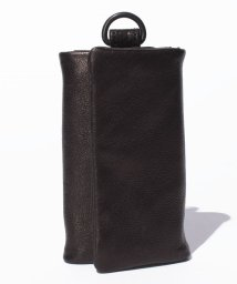 PATRICK STEPHAN/Leather key case 'minimal' shine/500568765