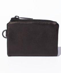 PATRICK STEPHAN/Leather micro wallet 'minimal' shine 2/500568775