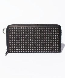 PATRICK STEPHAN/Leather long wallet fold 'all‐studs' 2/500568776