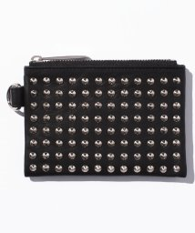 PATRICK STEPHAN/Leather wide coin case 'all‐studs' pointu/500568785