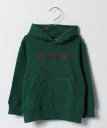 XLARGE KIDS/ロゴ入り裏毛パーカー/500575609