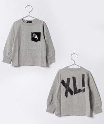 XLARGE KIDS/OGゴリラ胸ポケット後ろロゴプリント入りTシャツ/500575610
