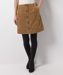 UNIVERVAL MUSE/フロントボタンAラインスカート/500582417