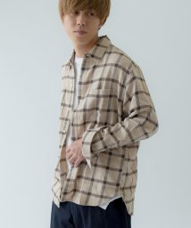 SHIPS BLUE STORE MEN/(3144)BS:NEL CHECK SHIRTS/500590055