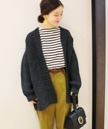 IENA/chere British wool カーディガン/500592029