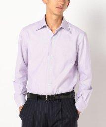 SHIPS MEN/SD:【ALBINI社製生地】ファインフィット ソリッド レギュラーカラーシャツ/500592289