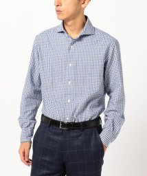 SHIPS MEN/SD: MONTI社製生地 ウォッシュド ギンガムチェック ネルシャツ/500592293
