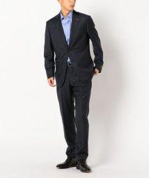 SHIPS MEN/SD: 【ハンドライン】 LORO PIANA社製生地 メランジ ダブルストライプ スーツ(ネイビー)/500592304