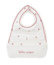 gelato pique Kids&Baby/ストロベリー baby お食事スタイ/500592826